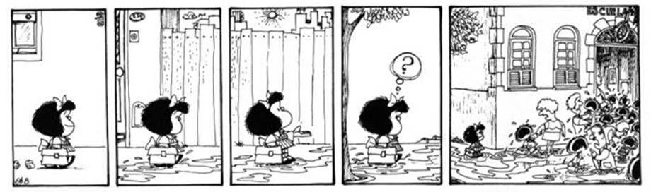 Mafalda-vuelta al cole