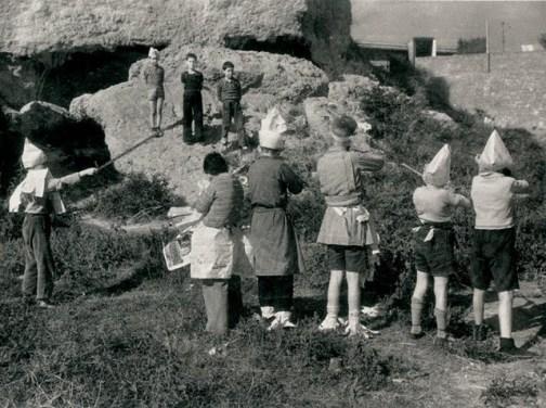 Agustí CENTELLES, Niños jugando a la guerra (Guadalajara, 1936)