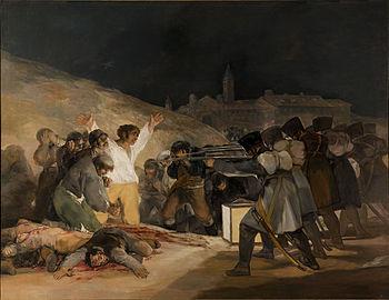 Francisco de GOYA, Los fusilamientos del 3 de mayo (1814), Museo del Prado, Madrid